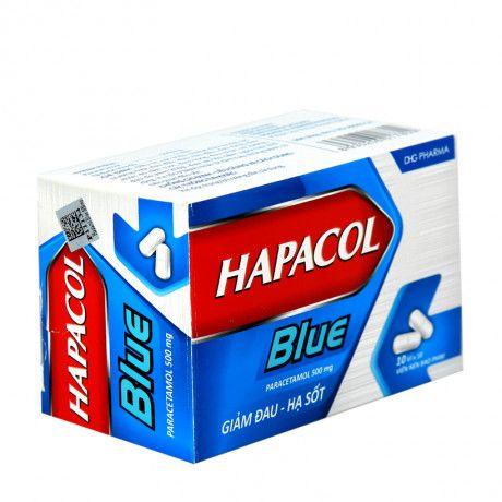 Thuốc Hapacol Blue 500mg- Trị đau đầu, đau nửa đầu, đau răng 1