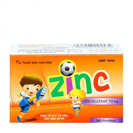 Thuốc phòng ngừa, điều trị và bổ sung kẽm Zinc 700mg 1