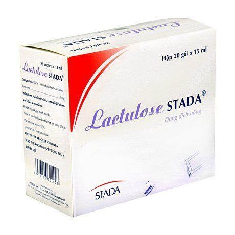 Dung dịch uống điều trị táo bón mạn tính Lactulose 1