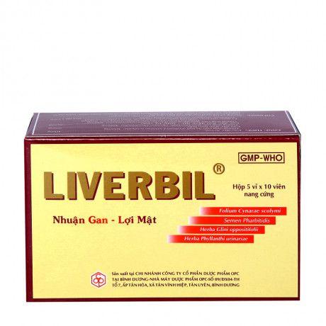 Liverbil- Phòng & hỗ trợ trị viêm gan, rối loạn tiêu hóa 1