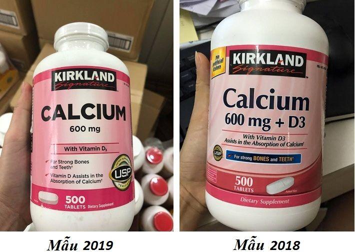 Viên uống hỗ trợ bổ sung Calcium + D3 Kirkland của Mỹ 1