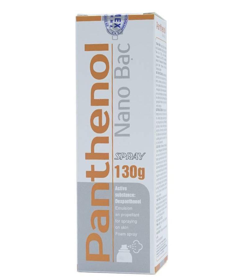 Xịt bỏng Panthenol spray hỗ trợ làm lành các vết thương trên da 1