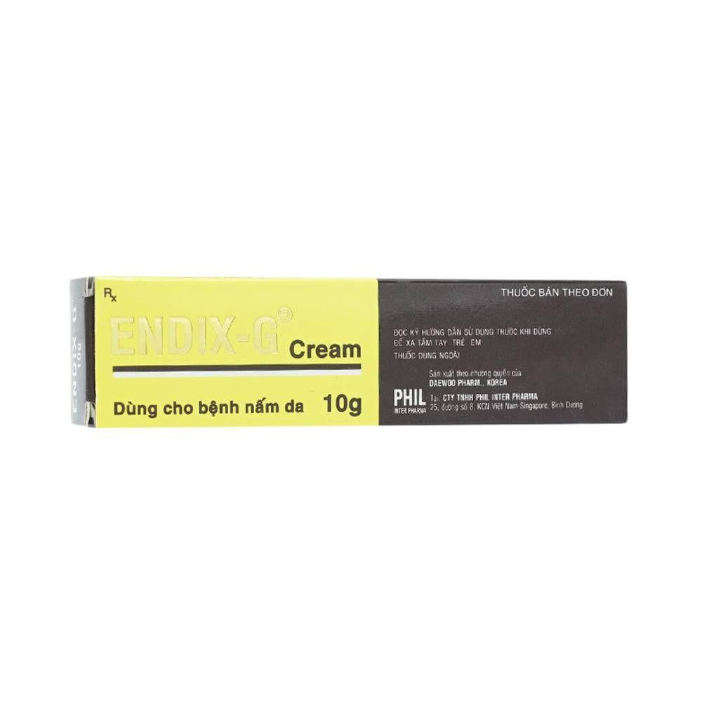 Thuốc điều trị các bệnh về da Endix- G (Tuýp 10g) 1