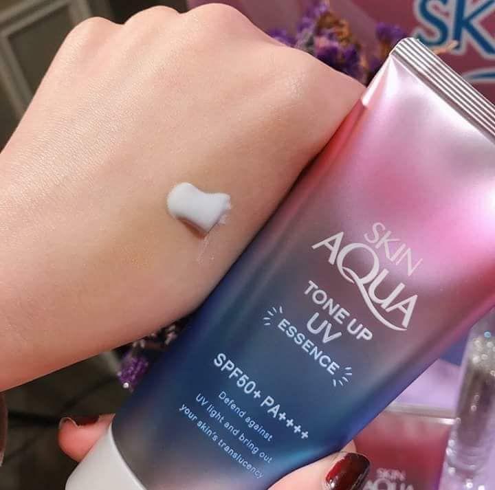 Kem Chống Nắng Chỉnh Màu Da Skin Aqua Tone Up SPF 50+ PA++++ 2
