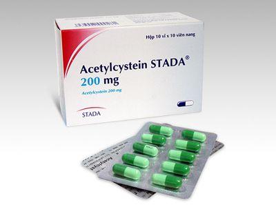 Thuốc điều trị viêm phế quản Acetylcystein (1vỉ)- Từ Đức 1