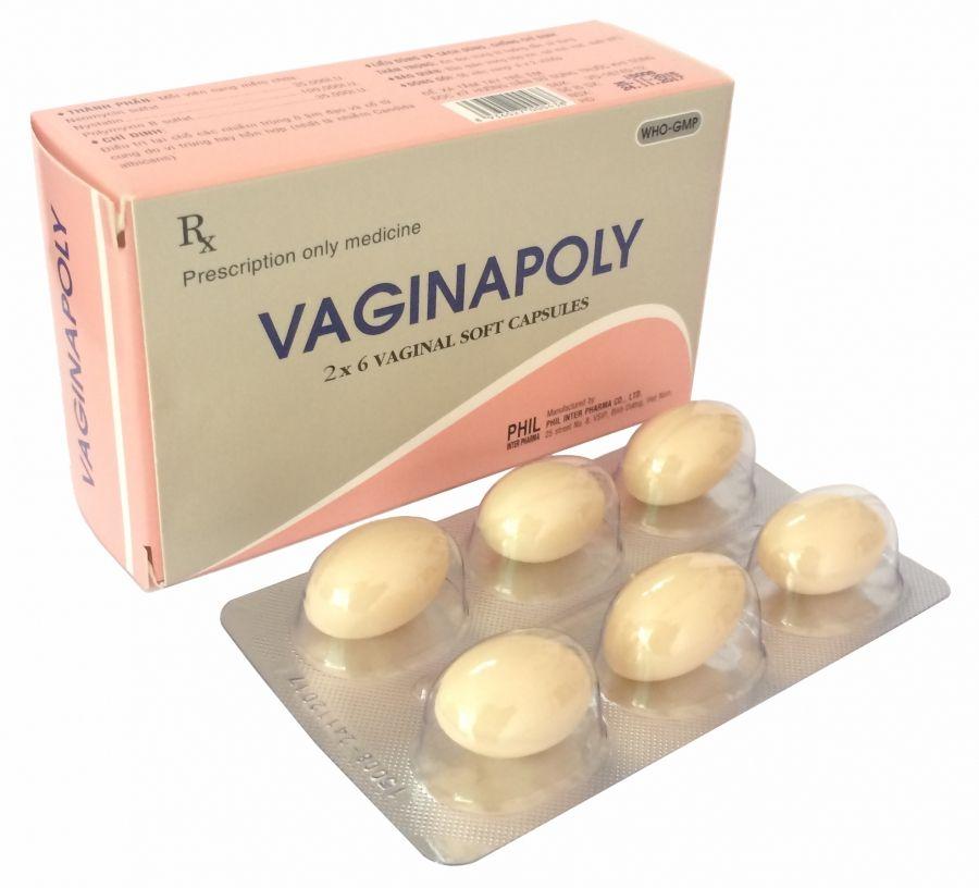 Viên nang mềm đặt âm đạo Vaginapoly (1 viên) 1