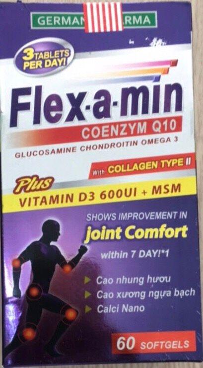Flex-a-min giúp làm giảm triệu chứng đau nhức xương khớp 1