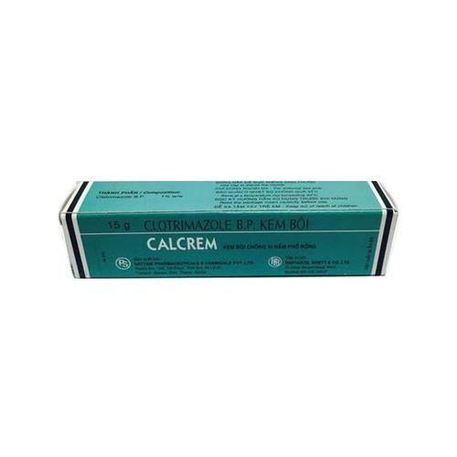 Thuốc điều trị các triệu chứng nấm ngoài da Calcrem (15g) 1