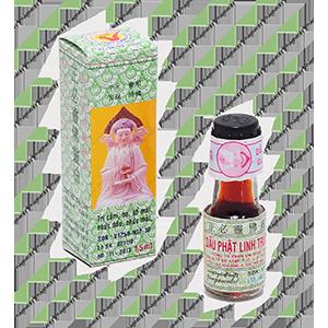 Dầu Phật Linh 1,5ml trị ho, sổ mũi, nhức đầu
