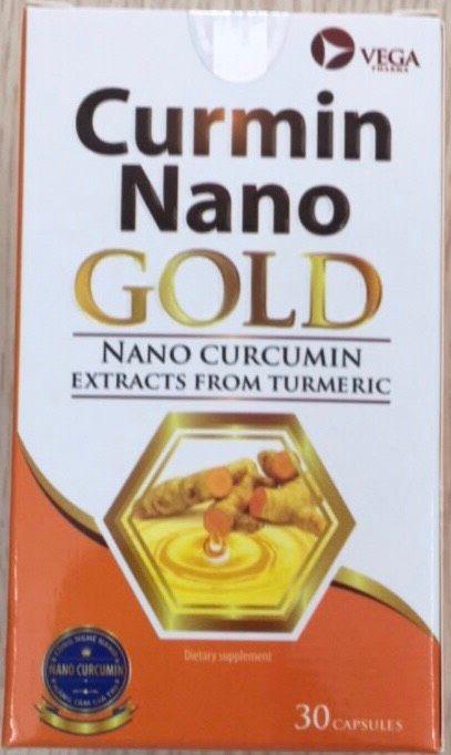 Viên uống Curmin Nano Gold Vega (Hộp 30 viên) 1