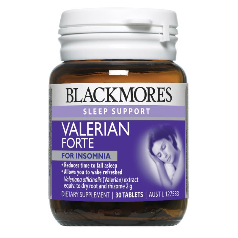 Viên Uống Hỗ Trợ Giấc Ngủ Blackmores Valerian Forte 2000mg 2