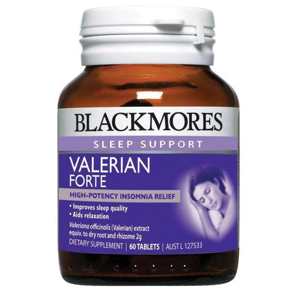 Viên Uống Hỗ Trợ Giấc Ngủ Blackmores Valerian Forte 2000mg 1
