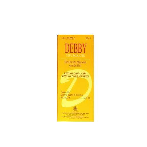 Thuốc điều trị tiêu chảy cấp và mãn tính Debby (30ml) 1