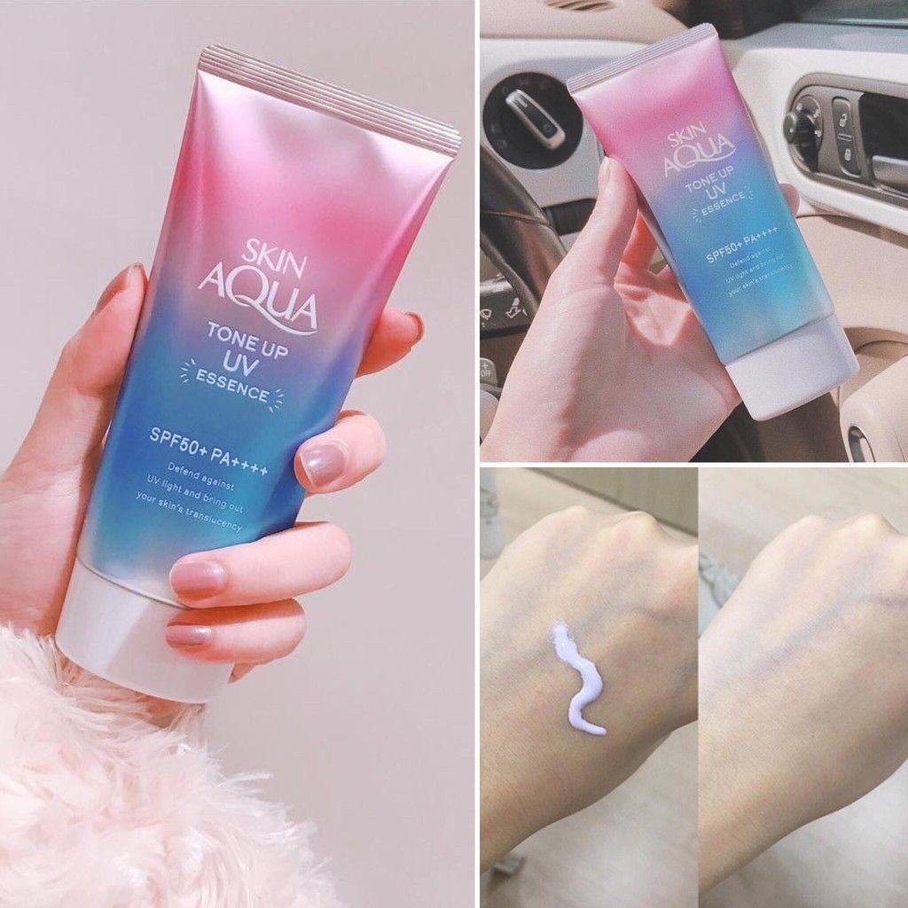 Kem Chống Nắng Chỉnh Màu Da Skin Aqua Tone Up SPF 50+ PA++++ 1