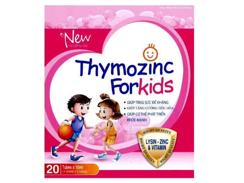 Thymozinc for kids hỗ trợ tăng cường sức đề kháng cho trẻ 1