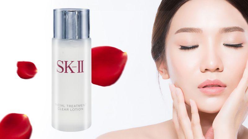 Nước hoa hồng SK-II Facial Treatment Clear Lotion 30ml 2