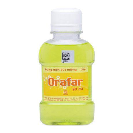 Dung dịch súc miệng Orafar dung tích 90ml 1