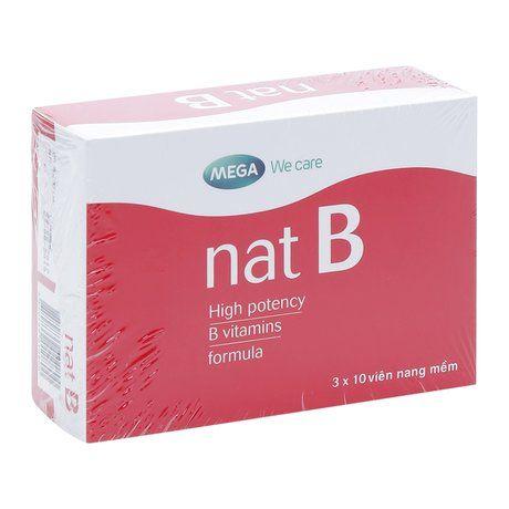 Thuốc điều trị chứng thiếu hụt vitamin B Nat B- Xuất xứ Úc 1