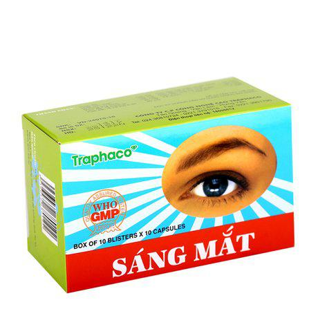 Thuốc sáng mắt Traphaco (10 vỉ x 10 viên/ hộp) 1