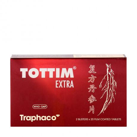 Tottim Extra- Trị, phòng ngừa đau thắt ngực,xơ vữa động mạch 1