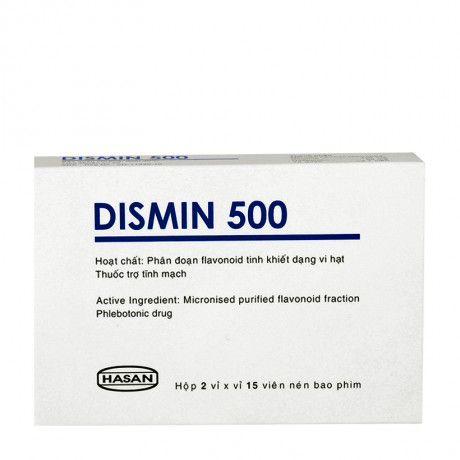 Thuốc Dismin-Trị dấu hiệu,triệu chứng suy tĩnh mạch mãn tính 1