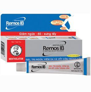 Thuốc điều trị côn trùng cắn Remos IB (Tuýp 10g) 1