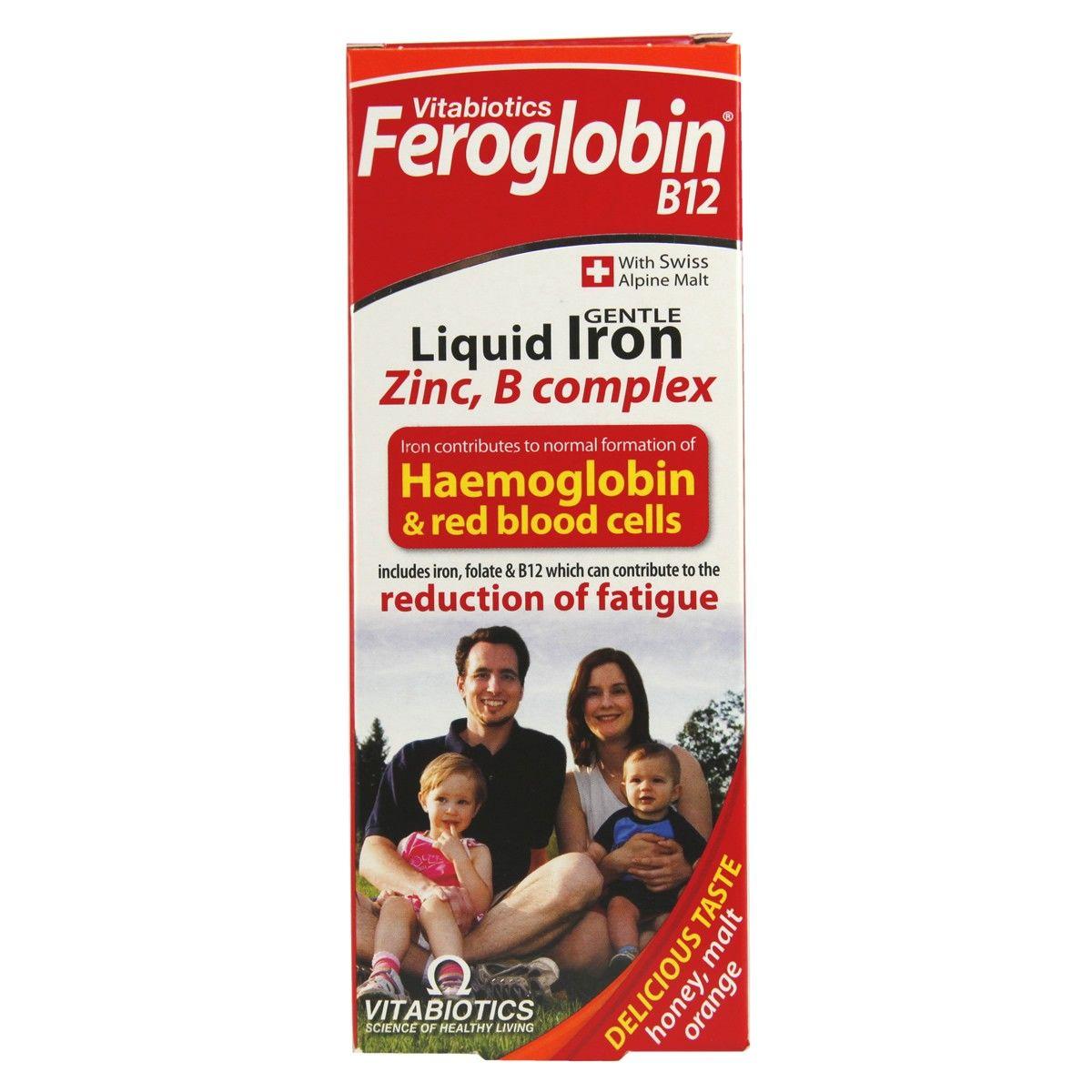 Feroglobin B12 bổ sung sắt dạng siro 200ml 2