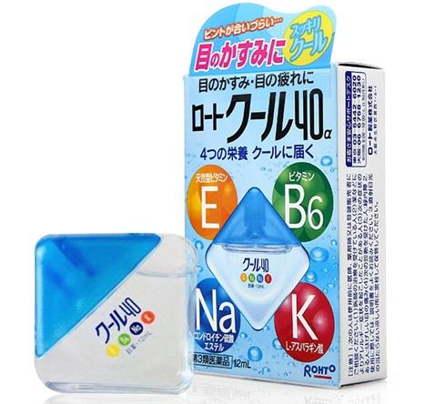 Nước nhỏ mắt Rohto Vita 40 Nhật Bản 12ml 2