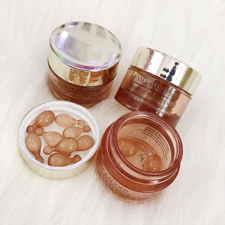 Serum Ban Đêm Estee Lauder Advanced Night Repair Ampoules Dạng Viên 1