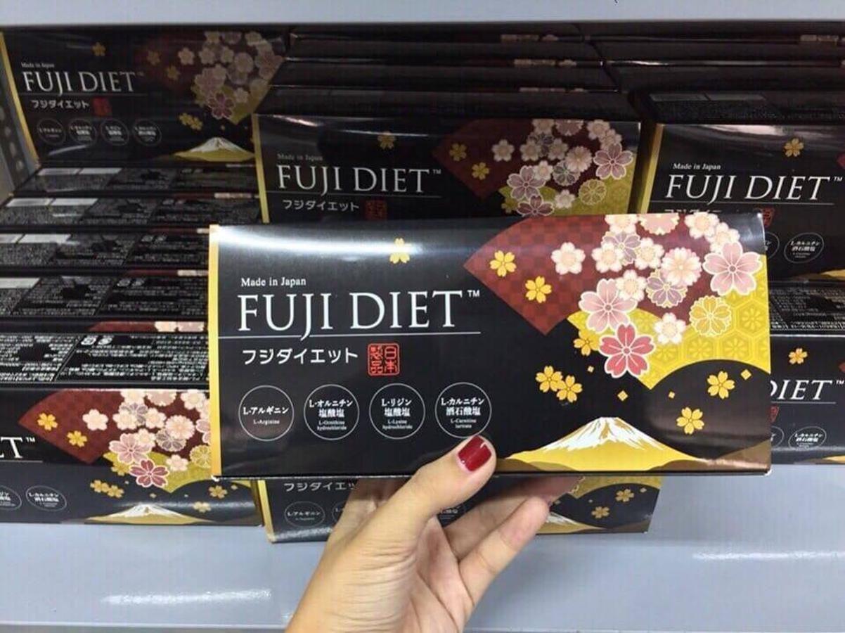 Fuji Diet - Viên Uống Hỗ Trợ Cải Thiện Cân Nặng Của Nhật 2