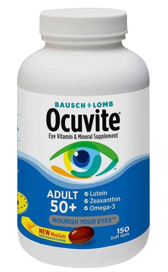 Viên uống hỗ trợ mắt Ocuvite Adult 50+ cho người trên 50 tuổi 1