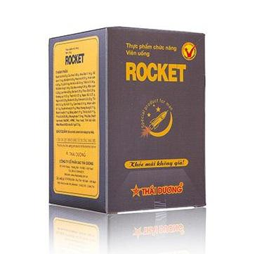 Viên Uống Rocket Cho Nam Giới Hộp 10 Gói Chính Hãng 1