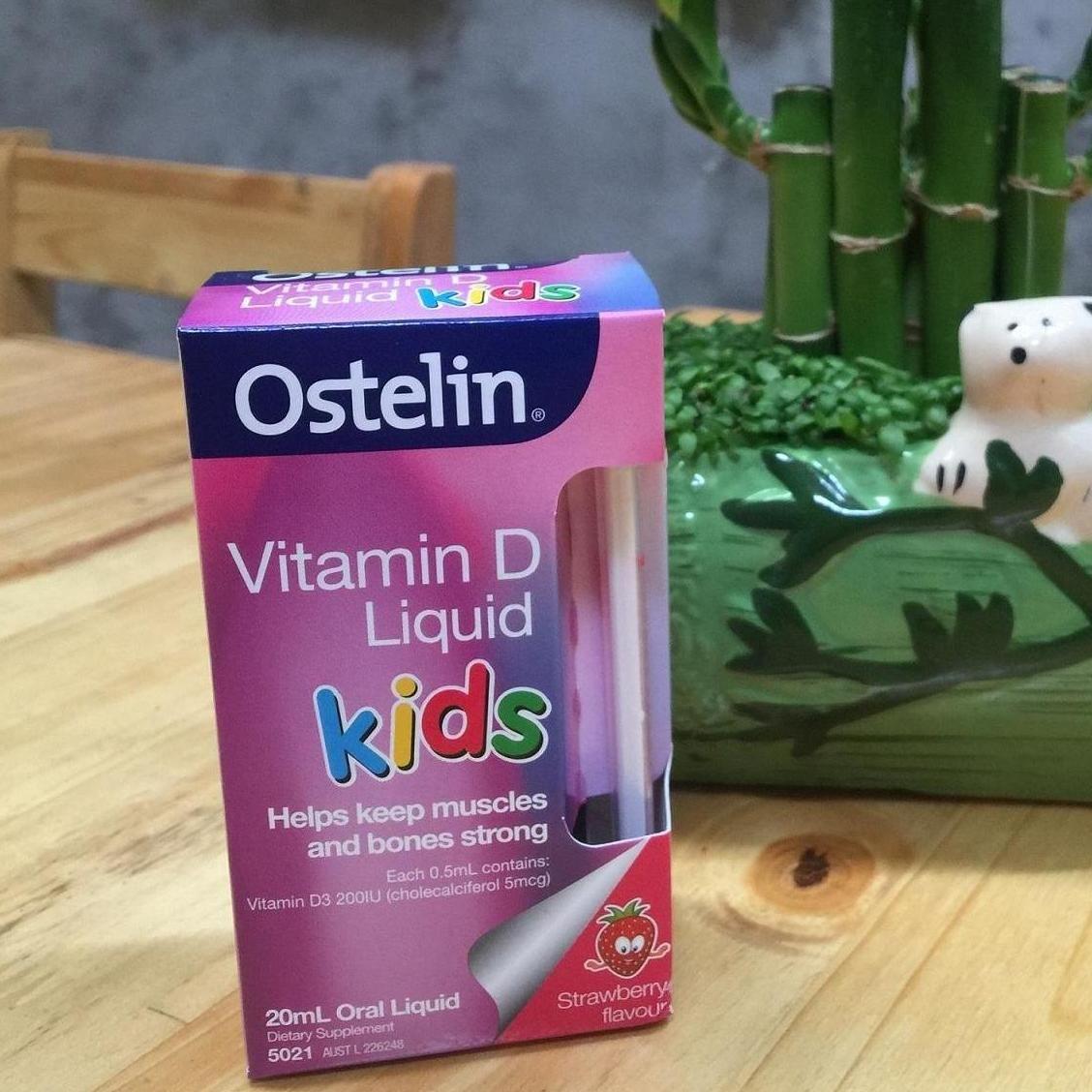 Vitamin D Ostelin dạng nước 20ml cho bé 0-12 tuổi 2
