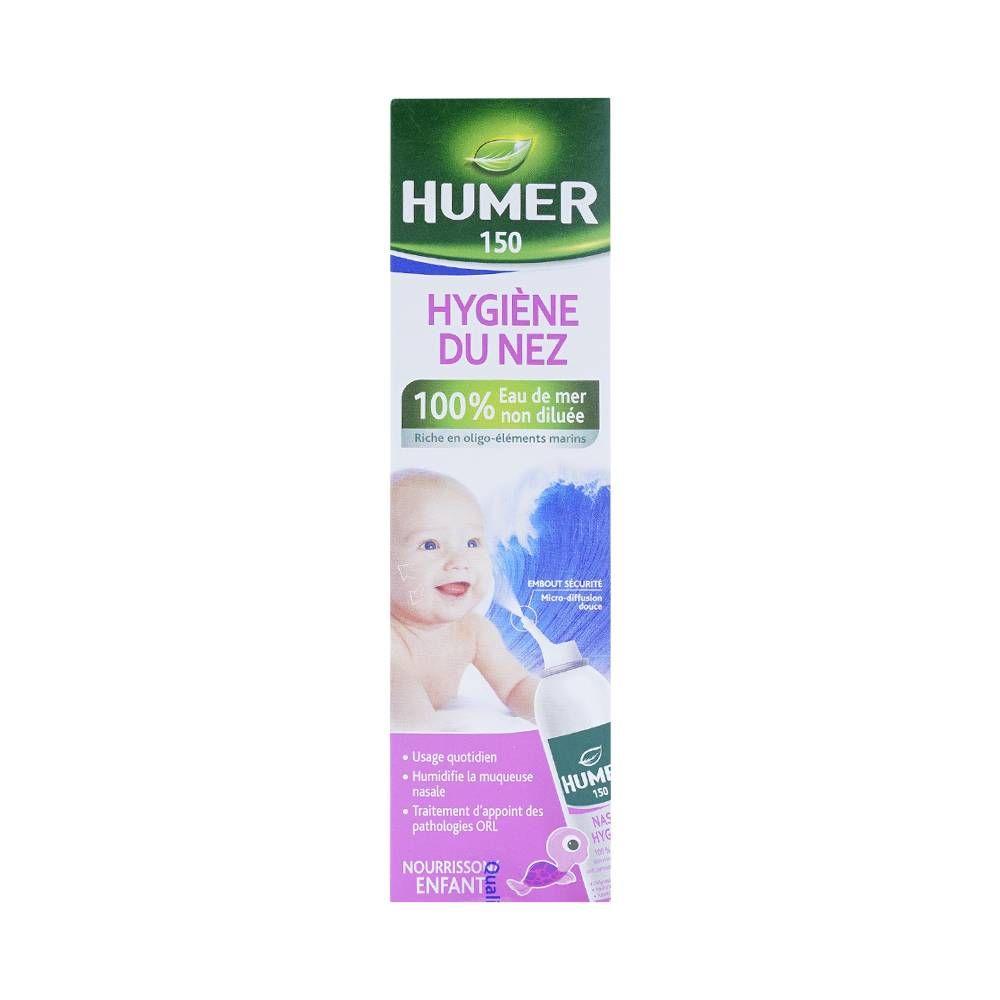 Xịt muối biển vệ sinh mũi cho bé Humer Children 150ml 1