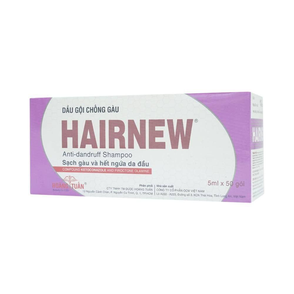 Dầu gội chống gàu hiệu quả Hairnew gói 5ml 1