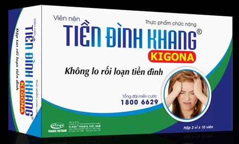 Viên nén Tiền Đình Khang Kigona- Không lo rối loạn tiền đình 1