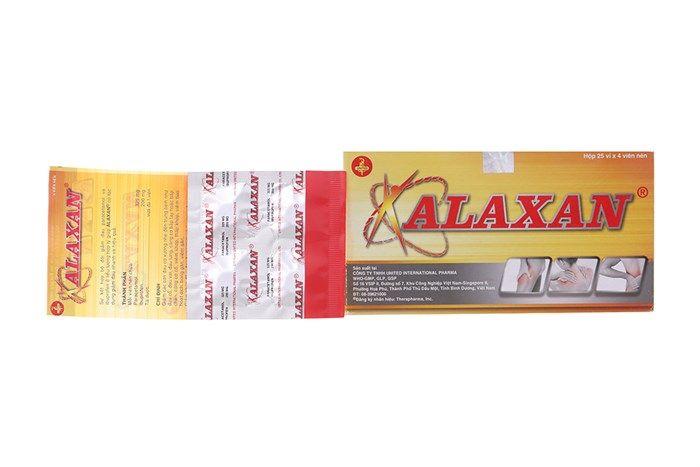 Thuốc giảm đau, kháng viêm Alaxan 1 vỉ x 4 viên 1