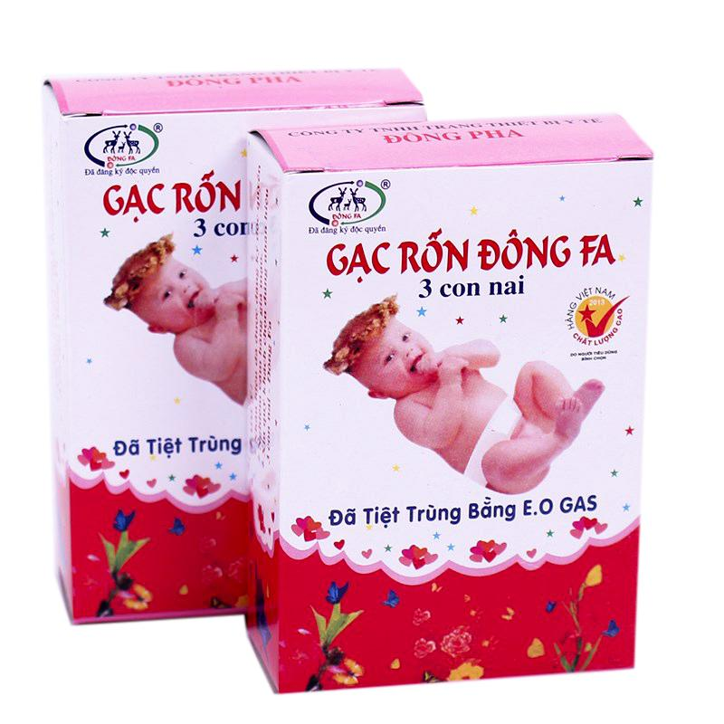 Gạc rốn Đông Pha 3 con nai cho trẻ sơ sinh 1