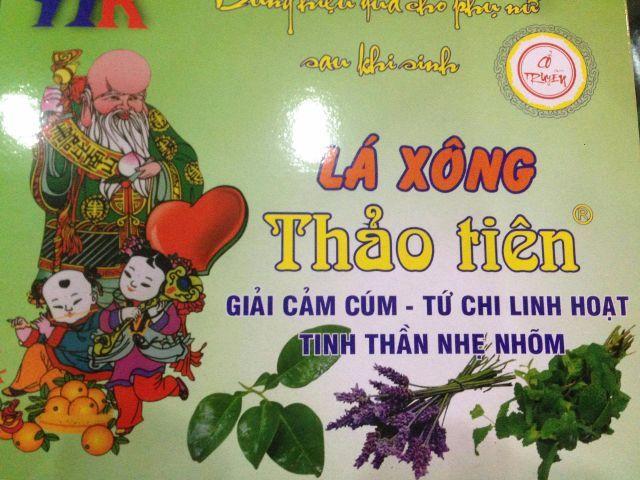 Lá xông Thảo Tiên dành cho bà mẹ sau sinh 1