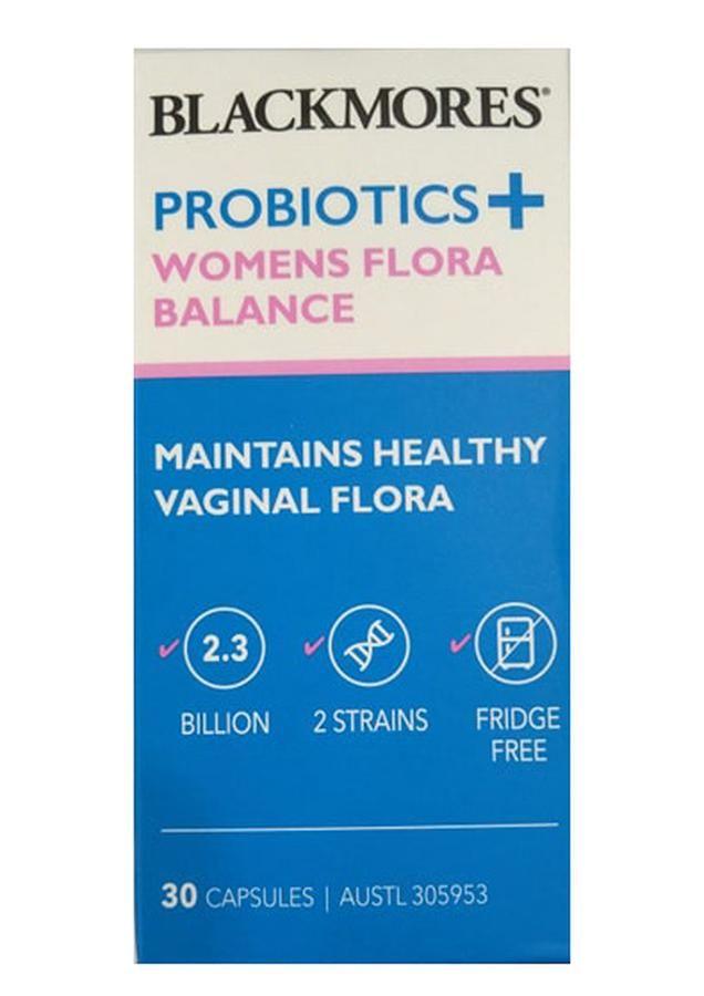 Men vi sinh trị viêm âm đạo Blackmores Probiotics+ Womens Flora Balance 1