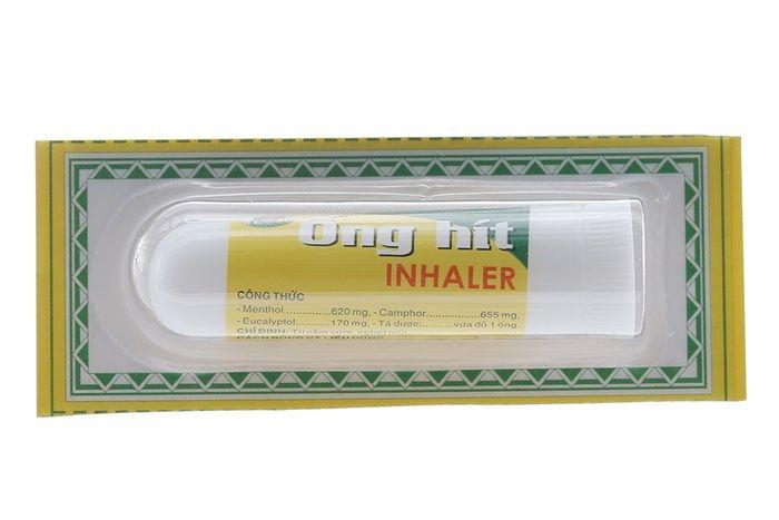 Ống hít trị nghẹt mũi Inhaler 1