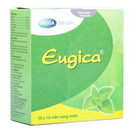 Thuốc trị các chứng ho, đau họng, sổ mũi Eugica 1