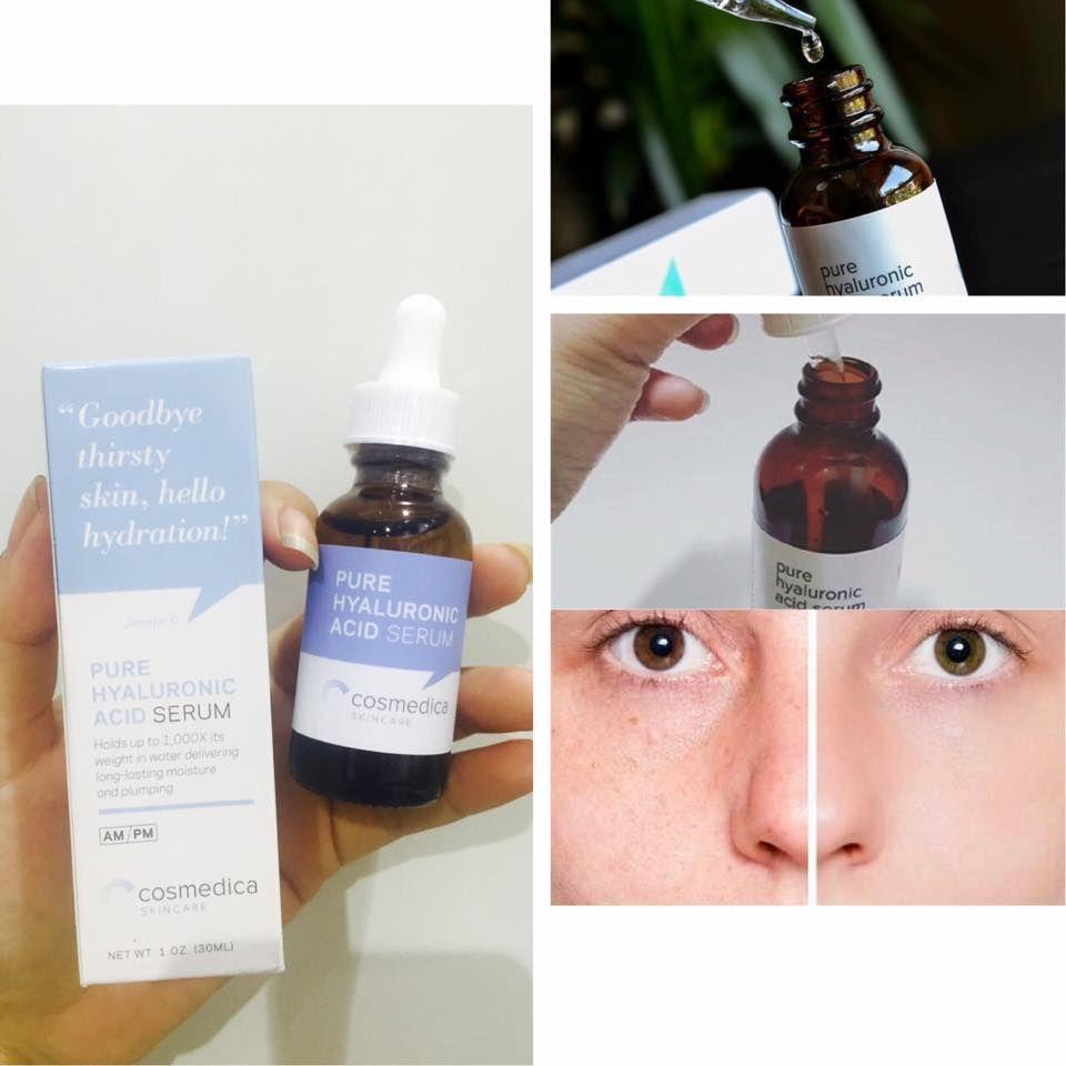 Serum dưỡng ẩm Cosmedica Hyaluronic Acid 60ML Của Mỹ 2