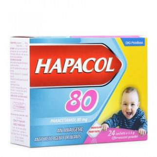 Thuốc giảm đau hạ sốt cho trẻ Hapacol 80 1
