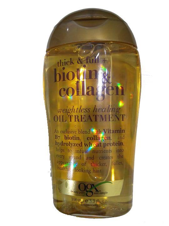 Tinh dầu dưỡng tóc OGX Biotin Collagen 100ml của Mỹ 1