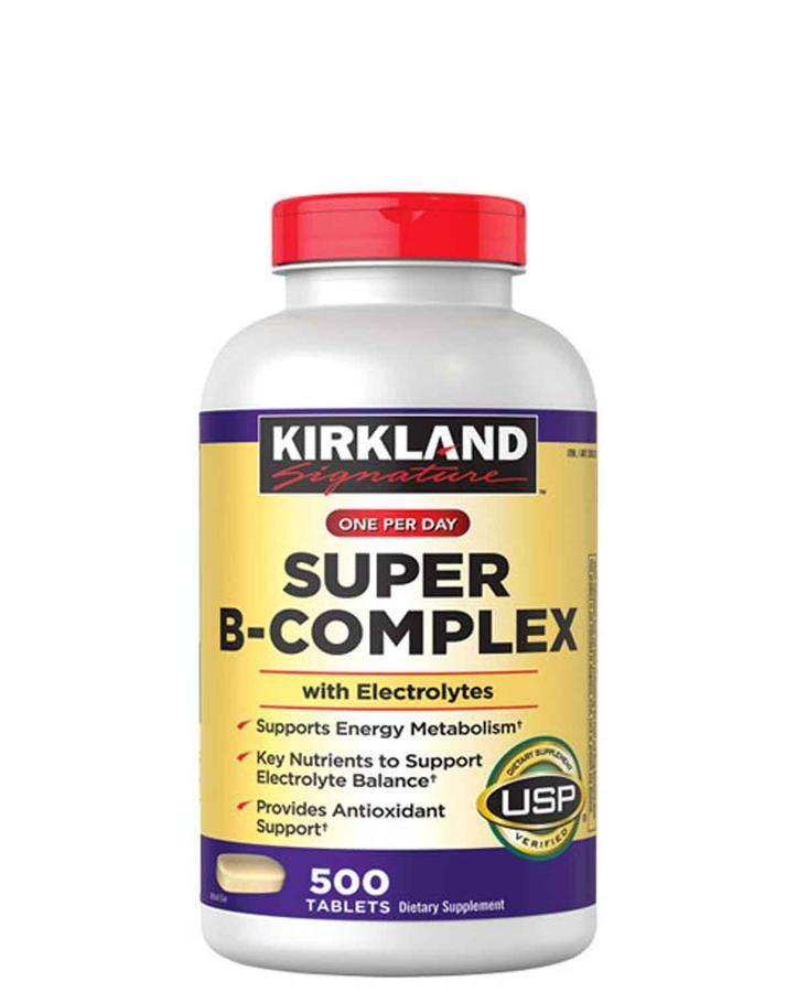 Vitamin B tổng hợp Super B-Complex Kirkland 500 viên  1