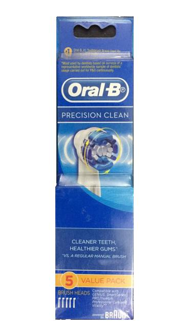 Bộ đầu bàn chải điện Precision Clean Oral-B 1