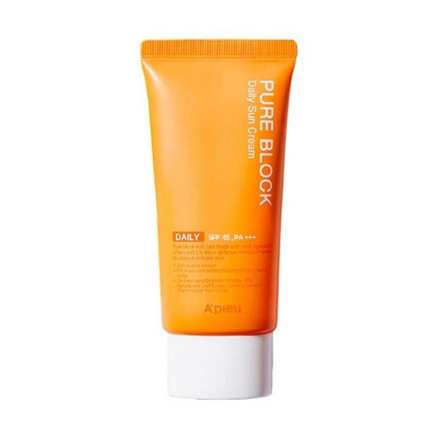 Kem chống nắng Apieu Pure Block Natural Daily Suncream SPF45 1
