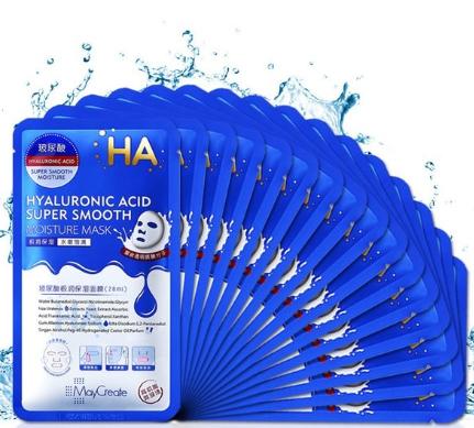Mặt nạ HA Hyaluronic Acid - Hỗ trợ dưỡng ẩm cho da mềm mịn