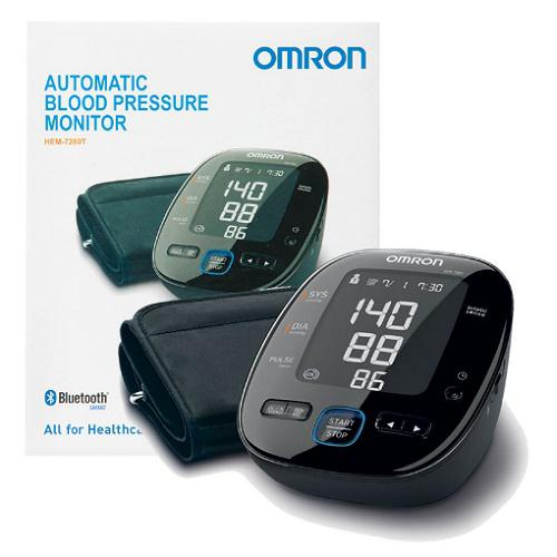 Máy đo huyết áp bắp tay Cao Cấp HEM-7280T Bluetooth 2